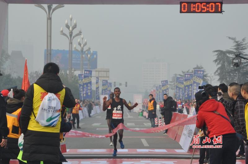 2018天府仁寿半程马拉松比赛今日开赛