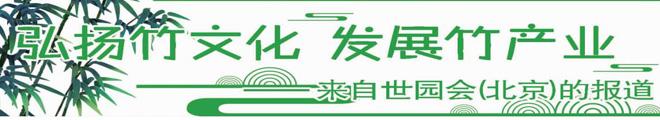 弘扬竹文化产业