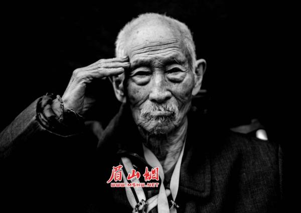 """盼了70多年!眉山6名抗战老兵今日踏上""""滇西圆梦旅程"""""""